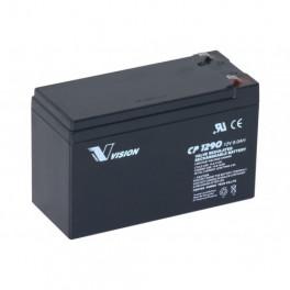 12 volt batteri 9 AH