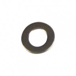 Rustfri spændeskive 6 mm