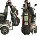 Golfbag holder/stativ