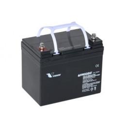 El scooter AGM Batteri 24 AH 12 Volt