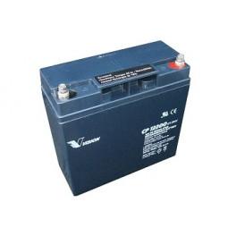 AGM el-scooter batteri