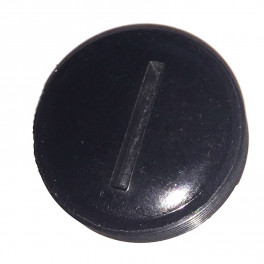 Dækskrue til kul 14 mm