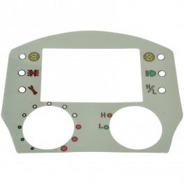Label til kontrolpanel (display)